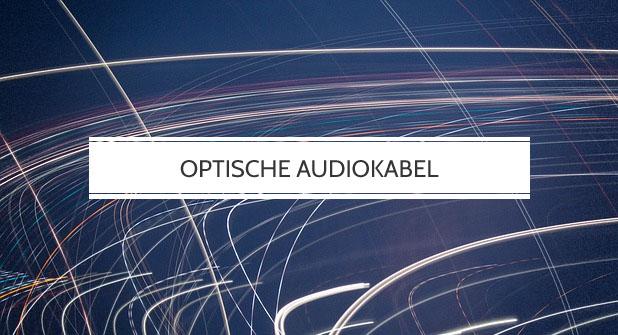 Optische Audiokabel für Plattenspieler
