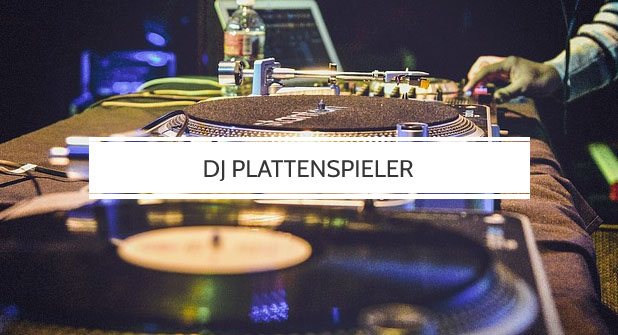 DJ Plattenspieler Test
