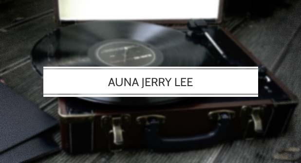 Auna Jerry Lee Plattenspieler