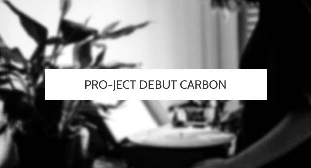 Pro-Ject Debut Carbon Plattenspieler