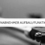 Tonabnehmer für Plattenspieler: Aufbau und Funktion